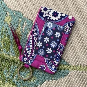 Vera Bradley • Boysenberry Coin Card Holder